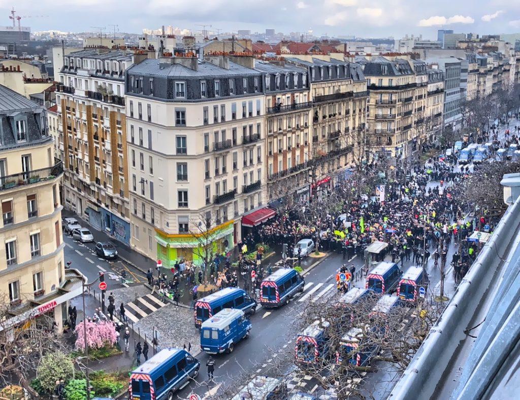 """""""Covid-19 - Manifestation des Gilets jaunes le 14:03:2020"""""""